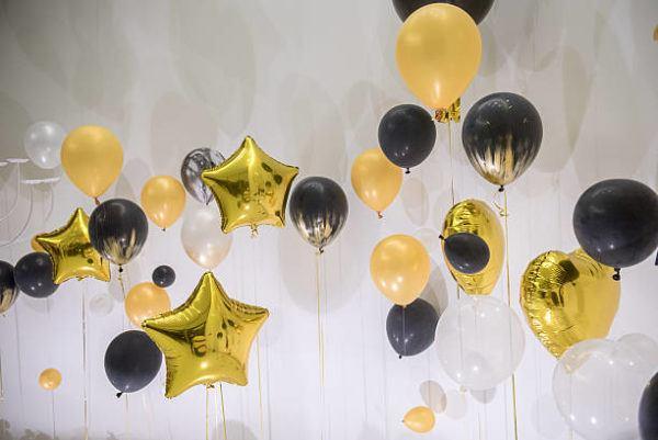 Como decorar casa globos globos con forma de estrella