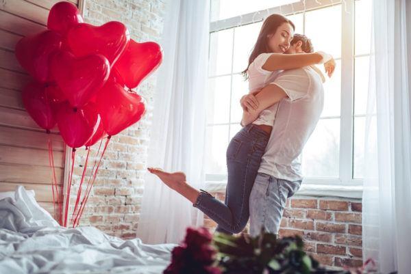 Decoracion para el hogar en san valentin globos de corazones rojos