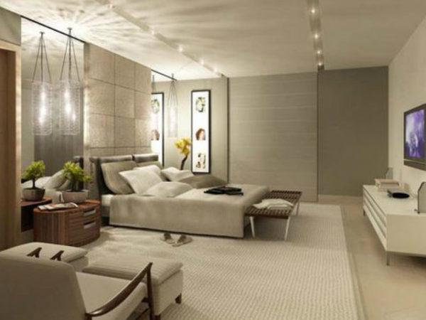 23-fotos-decoración-dormitorios-modernos-grises