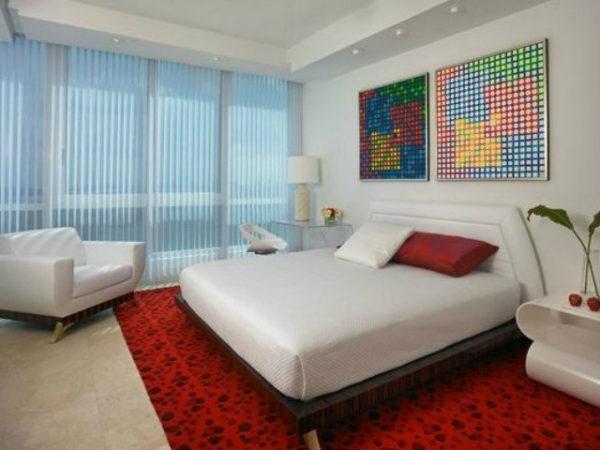 23-fotos-decoración-dormitorios-modernos-rojo