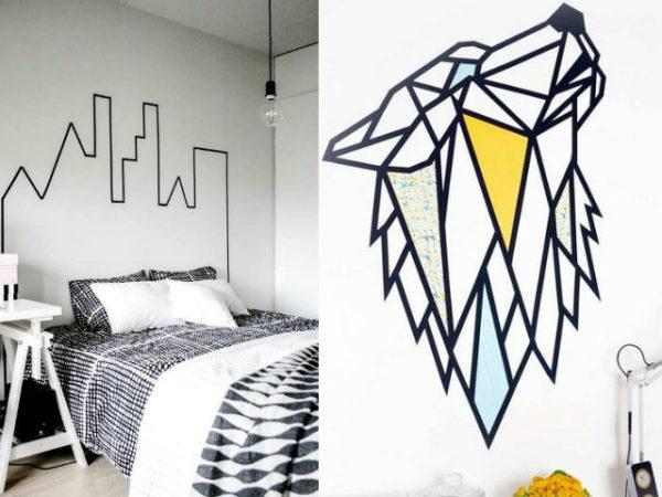 30-mejores-ideas-de-decoración-con-cinta-adhesiva