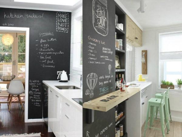 30-mejores-ideas-de-decoración-pizarra-en-la-cocina