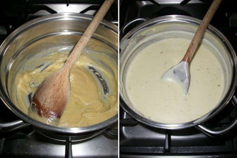 Preparing-the-filling-making-a-bechamel-sauce