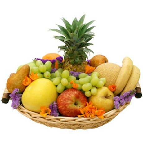 Como hacer una cesta de frutas para regalo