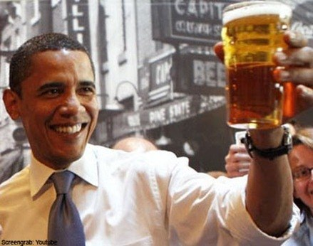 receta casera cerveza Obama