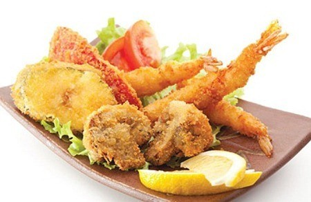 tempura gambas