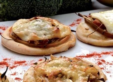 Recetas para niños |Mini pizzas