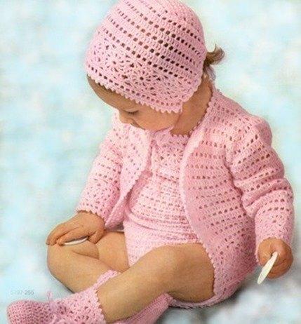 Patrones gratis de crochet para bebé