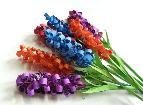 Comó hacer flores de goma eva