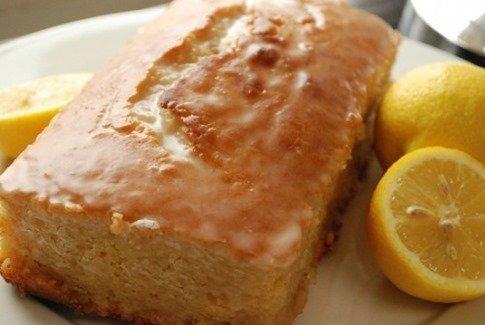 foto de bizcocho de yogur de limon