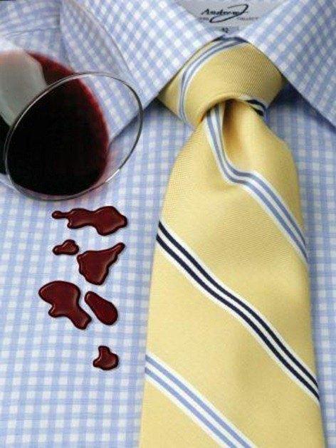 Recetas caseras, para quitar manchas de vino de la ropa