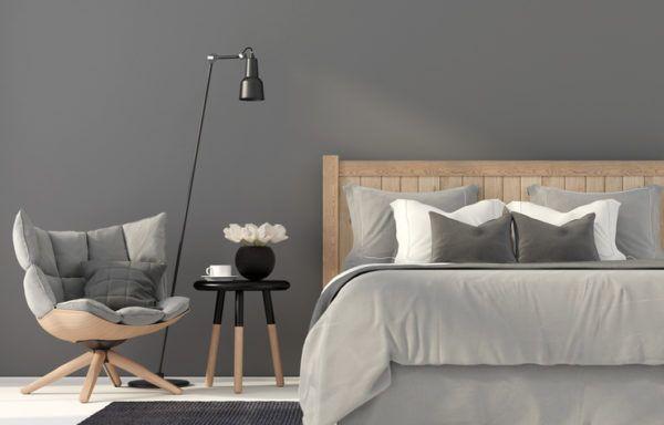 Colores combinan gris con beige