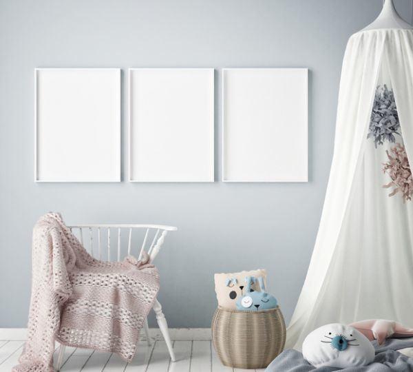 como-decorar-una-habitacion-de-bebe-textiles-istock