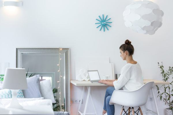 Ideas para decorar habitaciones pequenas muebles estudio