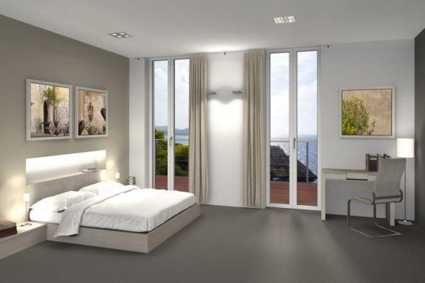 Ideas para decorar las paredes del dormitorio cuadros lienzos