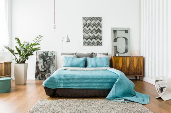 Ideas para decorar las paredes del dormitorio decorar con cuadros