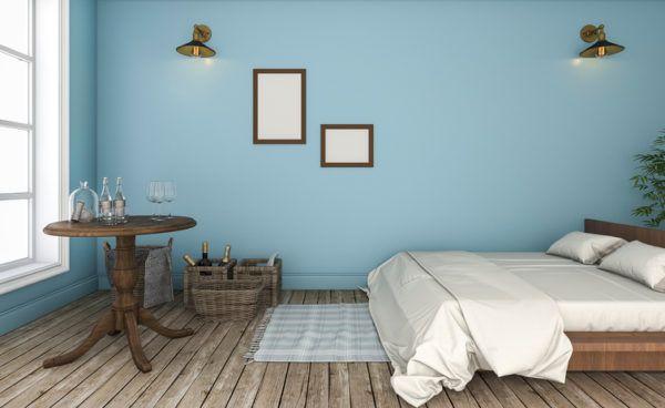 Ideas para decorar las paredes del dormitorio el color tonos pastel