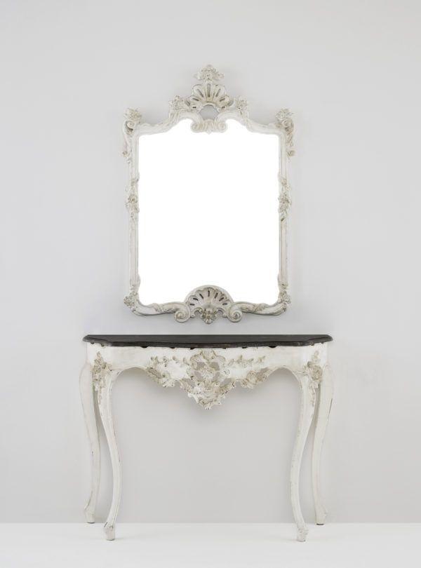 Ideas para decorar las paredes del dormitorio espejos tocador