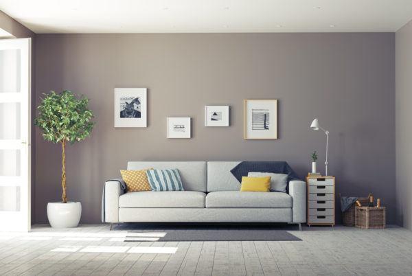 Ideas para decorar las paredes del salon cuadros