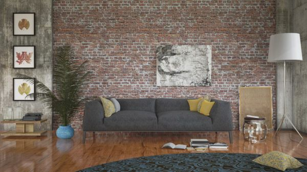 Ideas para decorar las paredes del salon papel pintado pisos neuyorkinos