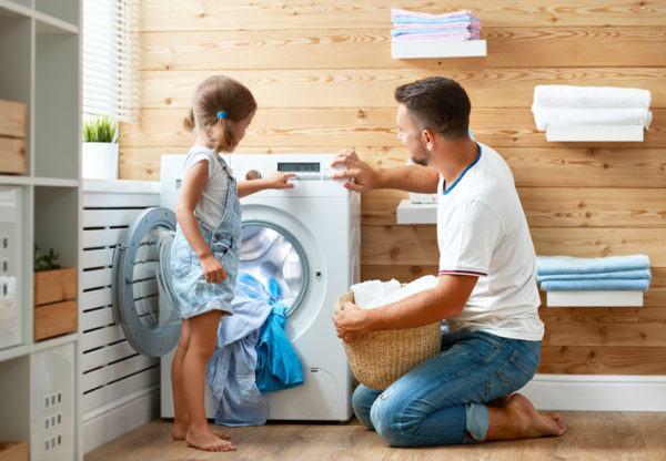 Como poner la lavadora seleccionar programa y temperatura