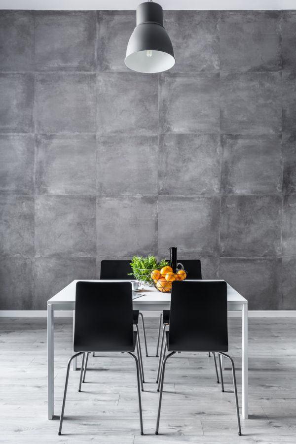 Comedores modernos en gris elegancia