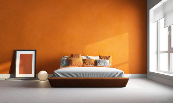 Colores habitaciones naranja