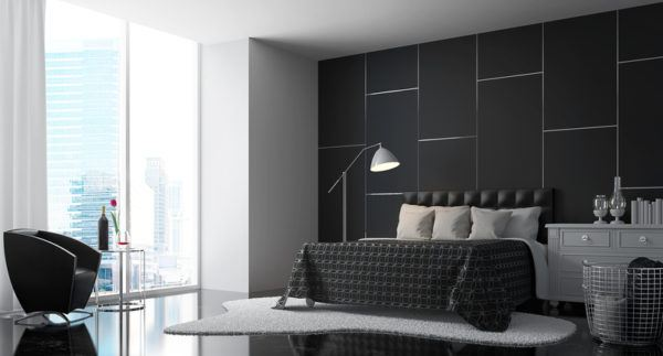 Colores habitaciones negro