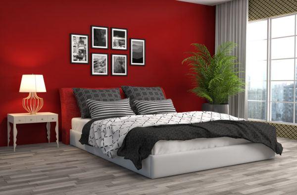 Colores habitaciones rojo
