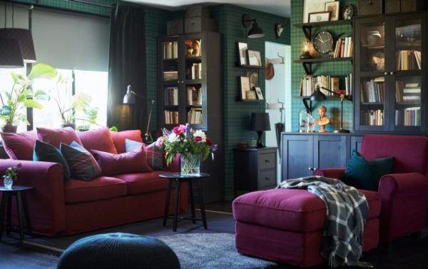 como-colocar-una-manta-en-el-sofa-chaise-long-ikea