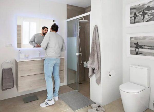 Catalogo baños leroy merlin 2021 espejo anna