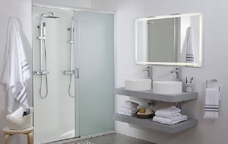 Catalogo baños leroy merlin 2021 mueble doble