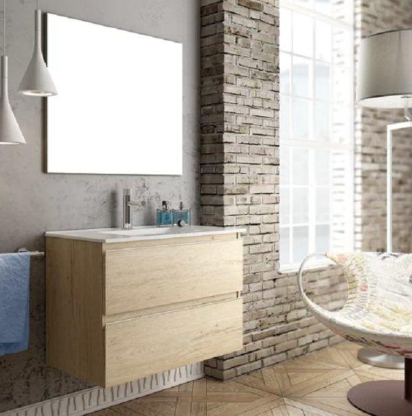 Catalogo baños leroy merlin 2021 mueble inglet madera de roble