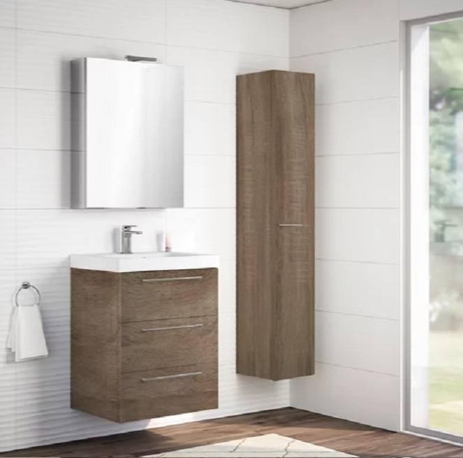 Catalogo baños leroy merlin 2021 mueble madera tres cajones