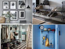 Catálogo de muebles de entrada y recibidor IKEA 2021