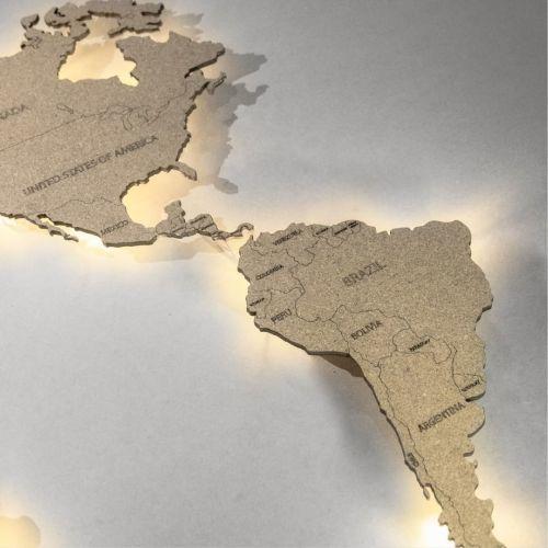 Mapa de corcho