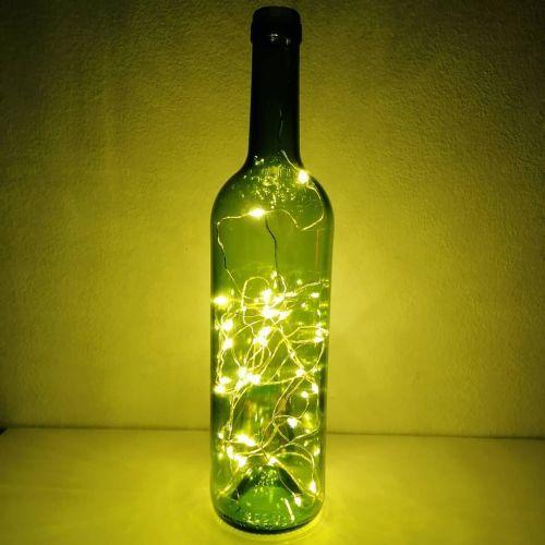 Lámpara de botella led