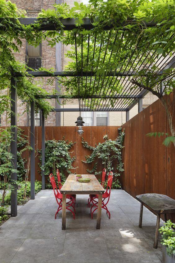 Ideas para decorar terrazas cubiertas PLANTAS