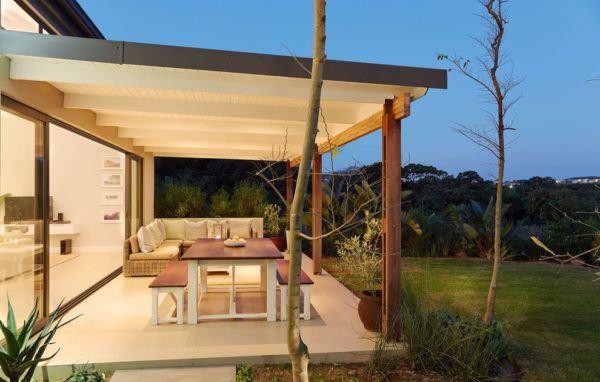 Ideas para decorar terrazas cubiertas colores blanco