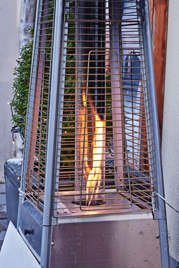 Que estufa instalar una terraza