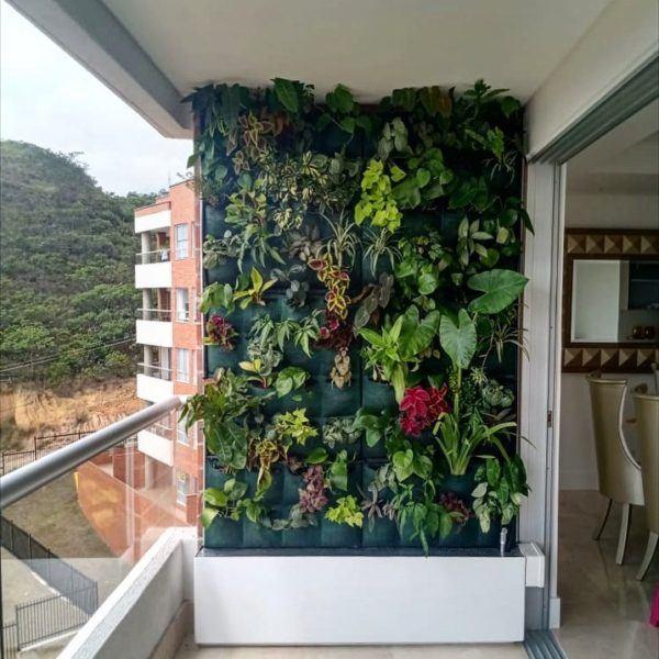 Jardín vertical terraza