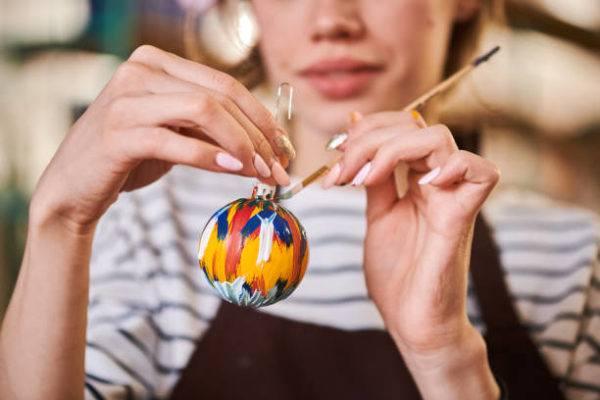 Bolas de navidad para decorar el arbol multicolor