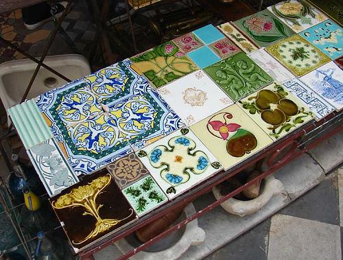 como fabricar azulejos
