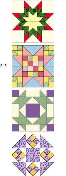 cómo hacer una colcha de patchwork3