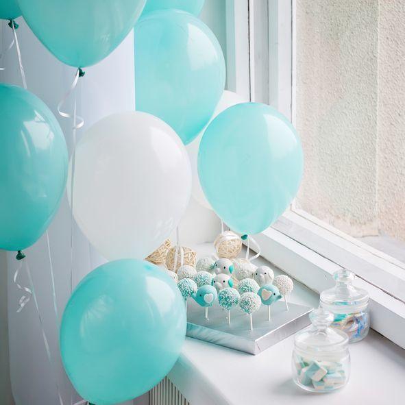 Como decorar casa globos globos tonos neutros