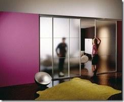 es aqu donde las puertas correderas constituyen una solucin ideal para dividir o comunicar ambientes sin necesidad de obras ya que suelen instalarse