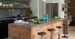 Ideas para decorar Cocinas Rústicas Modernas y Pequeñas 2017