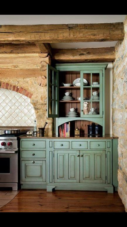 Ideas para decorar cocinas r sticas modernas y peque as - Encimeras rusticas ...