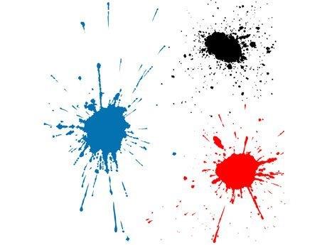 Mancha de pintura dibujo - Imagui