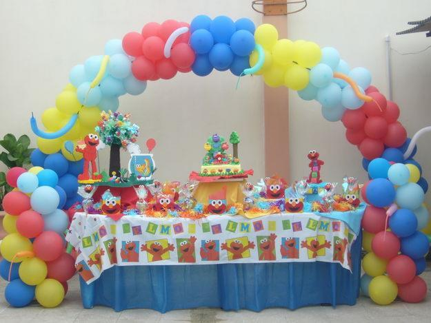 Decoraci n fiestas infantiles for 3 little birds salon